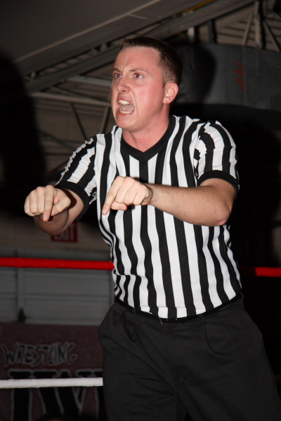 Referee Shawn Bennett