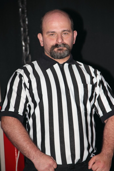 Referee Barry Delaney