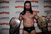2015-05-30: Evolve 43: Galloway vs. Buscick @ Queens, NY : www.dgusa.tv Evolve 43: Drew Galloway vs. Biff Busick at La Booms, Queen, NY  Rey Horus upset Tony Nese Davey Richards defeats Caleb Konley  TJ Perkins over Sppeedball Mike Bailey Chris Hero pins Trevor Lee Ronin: Johnny Gargano & Rich Swann submitted Drew Gulak & Tracey Williams to retain the Open the United Gate titles which they then vacated Drew Galloway pinned Biff Busick to retain the Open the Freedom Gate title