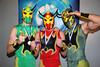 "2011-04-17 Chikara "" King of Trios Night #3"" @ Philadelphia, PA : Fire Ant/Soldier Ant/Green Ant defeats Amasis/Ophidian/Hiericon to advance Icarus/Johnny Gargano/Chuck Taylor defeats Jinsei Shinzaki/Dick Togo/The Great Sasuke to advance Jigsaw defeats Ultimo Spider Jr. TAG TEAM GAUNTLET MATCH:         Arik Cannon/Darren Corbin over Willie Richardson/Jaz Acid         Arik Cannon/Darren Corbin over Obariyon/ Kodoma     by DQ        Sugar Dunkerton/Dasher Hatfiled over Arik cannon/Darren Corbin        Sara Del Rey/Daizee Haze over  Sugar Dunkerton/Dasher Hatfield        Sara Del Rey/Daizee Haze over Matt Classic/ Darkness Crabtree        Brodie Lee/Grizzly Redwood over Sara Del Rey/Daizee Haze        Daisuke Harada/Atushi Kotage over Grizzly Redwood/Brodie Lee        Daisuke Harada/Atushi Kotage over Shane Matthews/Scott Parker        Daisuke Harada/Atushi Kotage over Super Shisa/Kagetora to win Gaultlet Match Manami Toyota defeats Madison Eagles Eddie Kingston tops Akira Tozawa El Generico defeats 1-2-3 Kid to win the Rey de Voladores The Colony: Fire Ant/Soldier Ant/Green Ant defeats FIST:Chuck Taylor/Johnny Gargano/Icarus to win KING OF TRIOS"