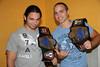 "2012-09-15 Chikara: ""King of Trios Night #2"" @ Easton, PA : www.chikarapro.com Chikara King of Trios Night #2 at the Palmer Community Center,Easton, PA  FIST: (Chuck Taylor, Johnny Gargano & Icarus) defeated Team JPW (Commando Bolshoi, Tsubasa Kurigaki & Kaori Yoneyama) to advance  Mr. Touchdown Mark Angelosetti upset the 1-2-3 Kid The Spectral Envoy (UltraMantis Black, Hallowicked & Frightmare) beat The Batiri (Obariyon, Kobald & Kodama) to advance Ebessen & Takoyakida defeated Fire Ant & Green Ant The Sendai Girls (Meiko Satamura, Dash Chisako & Sendai Sachiko) beat Jigsaw, Manami Toyota & Mike Quackenbush to advance Tatanka pinned Sugar Dunkerton Team ROH (Nick & Matt Jackson & Mike Bennett) upset Team ECW (Jerry Lynn, 2Cold Scorpio & Tommy Dreamer) to advance  Eddie Kingston defeated Tadusuke to retain the Chikara Grand Championship"